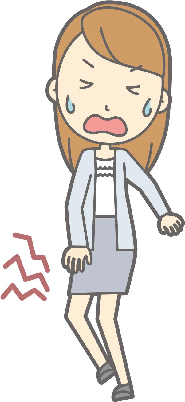 大阪,膝の痛み,曲げると痛い