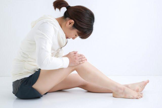 大阪,膝の痛み,続く